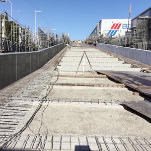 ソシラ西淀川Ⅱ スロープ舗装下地